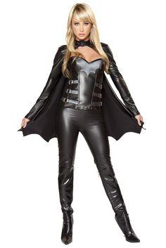Sexy Bat Warrior Costume, Sexy Batman Costume