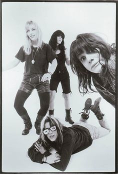 my favorite band while in high school...L7