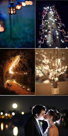 Have you considered having a night wedding? There's something truly magical about a night time wedding ceremony beneath the stars. Cute Wedding Ideas, Perfect Wedding, Dream Wedding, Wedding Day, Wedding Inspiration, Autumn Wedding, Wedding Wishes, Wedding Bells, Wedding Ceremony