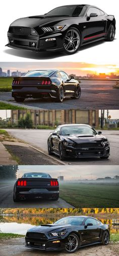 I need to hit The Lotto to get Two of these MONSTERS 2015 Roush Ford Mustang