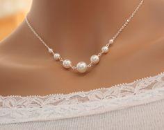 Pearl necklace  Bridal wedding