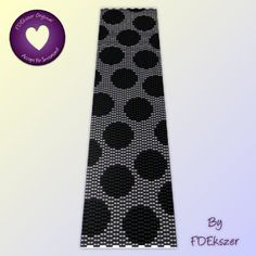 Monolithic Fun - Peyote Stitch Beading Pattern for cuff bracelet - PDF - bp114 / buy any 2 patterns GET 1 FREE special offer