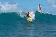 Noa Ginella stand up paddle North Shore Oahu sur sup-passion.com