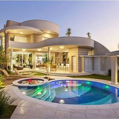 """Luxury Homes Interior Dream Houses Exterior Most Expensive Mansions Plans Modern 👉 Get Your FREE Guide """"The Best Ways To Make Money Online"""" Dream Home Design, Modern House Design, Dream Mansion, Luxury Homes Dream Houses, Modern Mansion, Dream House Exterior, House Goals, Home Fashion, Future House"""