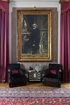 Grand Hotel et de Milan - Hotel 5 stelle lusso Milano -Official Website Milan Hotel, Elegant Homes, Grand Hotel, Eclectic Style, French Antiques, Home And Garden, The Incredibles, Painting, Art