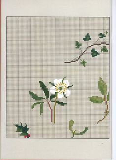 Cross Stitch Rose, Cross Stitch Flowers, Cross Stitch Patterns, Towel Embroidery, Couture, Cross Stitching, Christmas Crafts, Xmas, Needlework