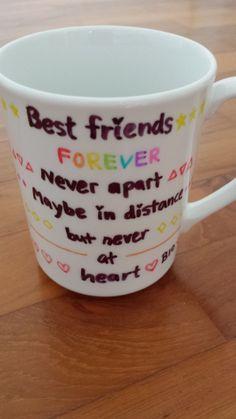 Best friends cup design :)