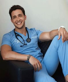 what brand scrubs does dr. mike varshavski wear - Google Search Hot Doctor, Male Doctor, Dr Mike Varshavski, Handsome Jack, Beautiful Men Faces, Hommes Sexy, Flu Season, Men In Uniform, Hot Hunks