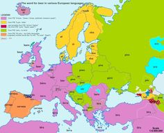 These European Word Origin Maps Are Fascinating One for the etymology nerds, by Romania-based Reddit user Bezbojnicul. One thing you notice:...
