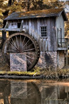 Old Water Mill Port Gibson, Miss photo - Earl Arboneaux photos at ...