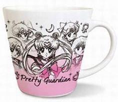 Sailor Moon Mug Cup 01 Sailor 5 Senshi $12.00 http://thingsfromjapan.net/sailor-moon-mug-cup-01-sailor-5-senshi/ #sailor moon #Japanese anime mug #anime