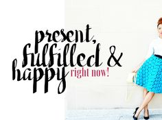 eliminate fear and embrace being present fulfilled and happy by Tiffany Nicole