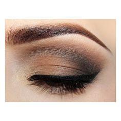 Everyday Smokey Eye | Idea Gallery | Makeup Geek ❤ liked on Polyvore