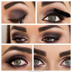 Eye Makeup Must-Try: Navy & Purple Matte Smokey Shadow | Divine Caroline