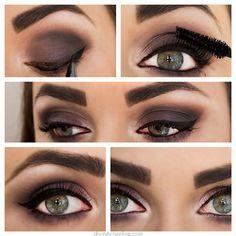 Eye Makeup Must-Try: Navy & Purple Matte Smokey Shadow | Divine Caroline
