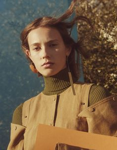 Mali Koopman by Charlotte Wales for Vogue China June 2016 | The Fashionography
