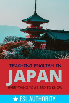 How to Teach English in Japan: Everything You Need to Know Teach English In Japan, Teaching English, Teaching In Japan, Need To Know, Everything, Author, The Incredibles, How To Get, Writers