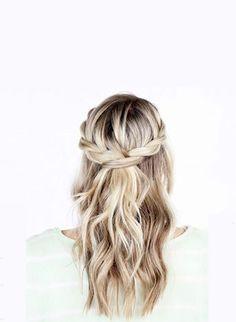 6 Summer Hair-do's to Try   lark & linen