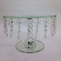 Base para pastel en vidrio