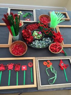 Red and Green Loose Parts Play for Anzac Day. day Red and Green Loose Parts Play for Anzac Day. Remembrance Day Activities, Remembrance Day Art, Nursery Activities, Preschool Activities, Poppy Activities For Toddlers, Kindergarten Art, Preschool Art, Reggio Emilia, Infant Activities