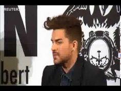 FULL R3uters video: Queen + Adam Lambert - Press Conference in Berlin - ...