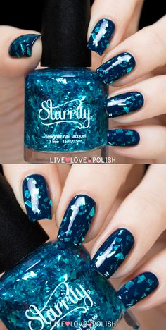 Hey there lovers of nail art! In this post we are going to share with you some Magnificent Nail Art Designs that are going to catch your eye and that you will want to copy for sure. Nail art is gaining more… Read more › Fancy Nails, Love Nails, Trendy Nails, Diy Nails, Glitter Nails, How To Do Nails, Sparkle Nails, Fabulous Nails, Gorgeous Nails