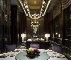 Shàng-Xí restaurant in the Four Seasons Hotel, Shanghai designed by AB Concept.