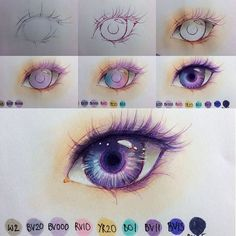 Copic Eyes