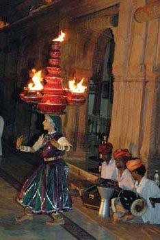 Fire Dancer, Rajasthan