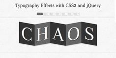 20+ Fresh and Cool jQuery And CSS3 Tutorials