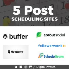 Even though your posts are receiving great audiences, failing to update the posts regularly??? Here are a few post scheduling sites which makes your post updating so simple. It's not about the best posts, it's about the scheduled timing that works great. Learn more about Post scheduling sites and how they work with digital investoFor more interesting post scheduling site updates follow our Social Media Channels and subscribe to our Website. Social Media Channels, More Fun, Social Media Marketing, Schedule, Poster, Student, Website, Learning, Digital