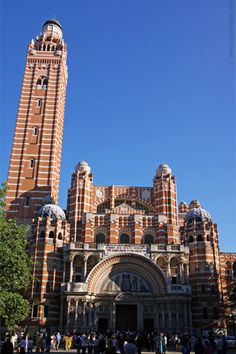 Westminster Cathedral--Westminster, London, England--Built 1895-1903
