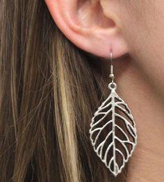 Leaf Earrings by Jesse & Co on Scoutmob Shoppe