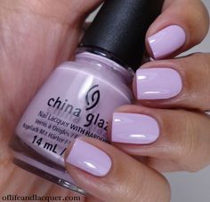 NOT MY PICTURE. China Glaze In a Lily Bit - NA