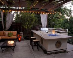 Outdoor Bbq Bar Design, Pictures, Remodel, Decor and Ideas - page 5