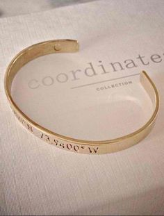 Give the gift of memory. #coordinatescollection #mycoordinates