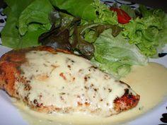 Dari Dapur NaSya: Dada ayam panggang bersos mustard