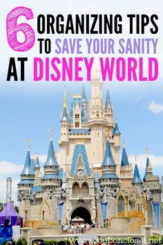 Planning a Disney World Vacation? Here are 6 Disney World Tips to Save your Sanity while you are there. You are going to be glad you read these!