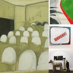 """Tentoonstelling """"Unterseeboot über Malermeister"""" @ccmechelencultuur #guyvanbossche #koenvandenbroek #walterswennen #guillaumebijl #kunst #belgischekunstenaars by sandra.rogier"""