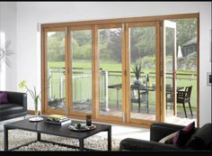 fantastic bi-fold door installed it certainly gives the wow factor