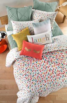 Bedding Sets for Luxury Homes – Best Bed Linen Ever Dream Bedroom, Home Bedroom, Girls Bedroom, Bedroom Decor, Bedroom Ideas, Bedding Decor, Queen Bedroom, Blue Bedding, Bed Sets