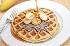 Banana Waffles – Served From Scratch