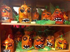*Fun Art 4 Kids: Pumpkin People