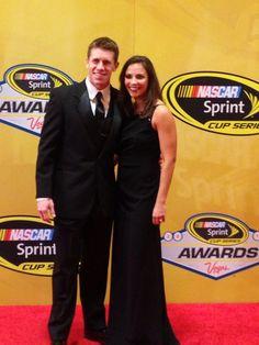 Carl Edwards and his wife. #AskMRN @MRNRadio #NASCAR #ChampionsWeek