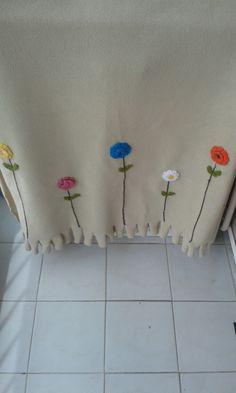 Çiçekli şal