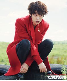 Jung Joon Young - Cosmopolitan Magazine September Issue '14