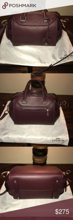 Coach Burgundy Glovetanned Ace. Excellent used condition. Used for a week. Price is firm Coach Bags Satchels