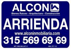 Administramos su propiedad avalados por Seguros Bolivar y/o Afiansa S.A. Info: 3217467750 / www.alconinmobiliaria.com