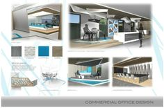 layout for commercial project