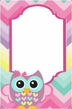 """""""Cute Owls"""": """"Colors of The Fall"""" Borders For Paper, Borders And Frames, Baby Food Jar Crafts, Owl Theme Classroom, Free Printable Stationery, School Frame, Binder Covers, Planner Covers, Owl Cartoon"""